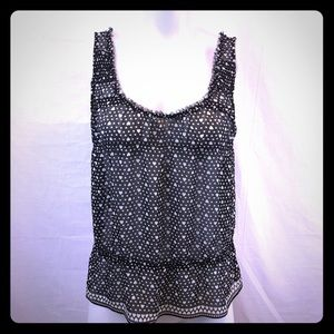 American Eagle Outfitters Sheer Heart Top